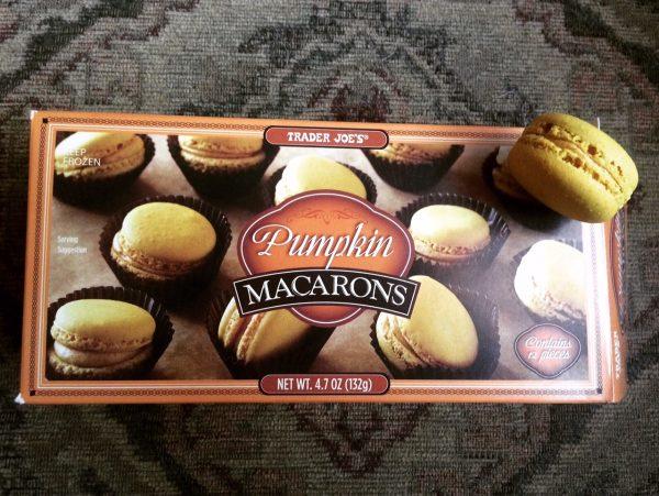 4) Pumpkin Macarons