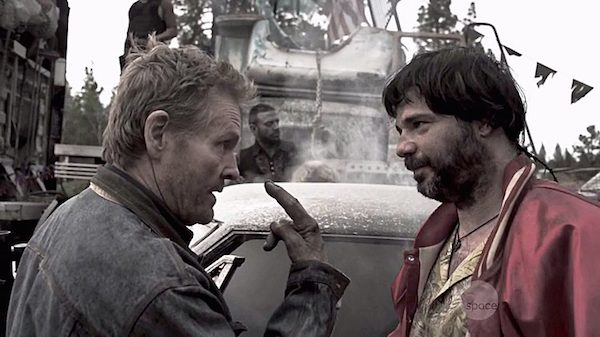 4 Z Nation Season Two Episode Three S2E3 Zombie Road Custer William Sadler Wrecking Ball William Voorhees