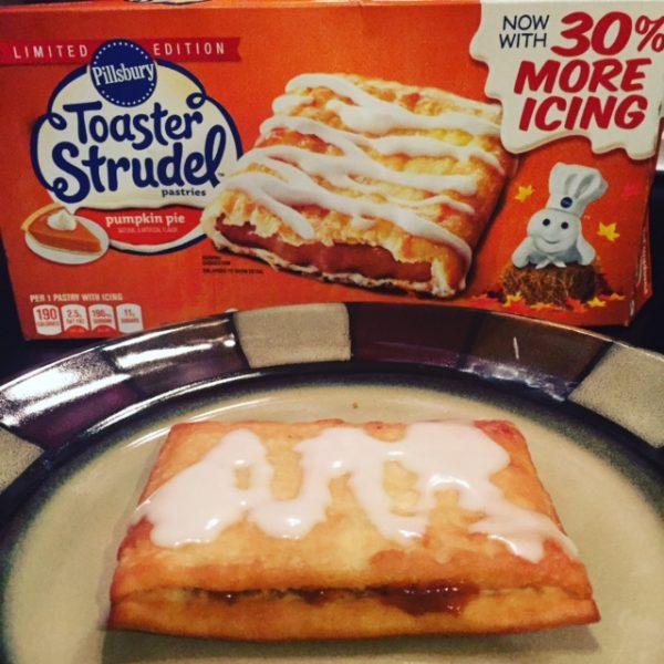 8) Pumpkin Pie Toaster Strudel
