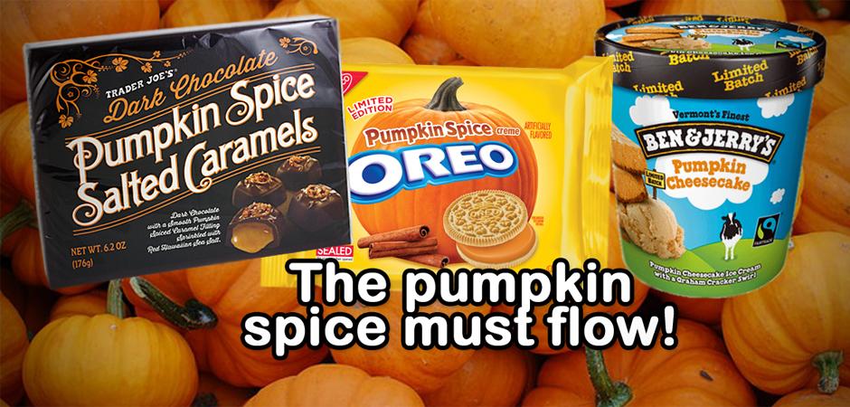 Pumpkin spice WP