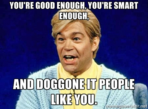 Stuart Smalley meme