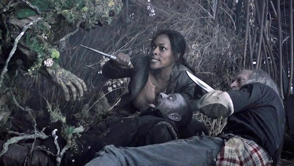 1 Z Nation Season Two Episode Four S2E4 Batch 47 Murphy Doc Warren Kellita Keith Allen Russell Hodgkinson