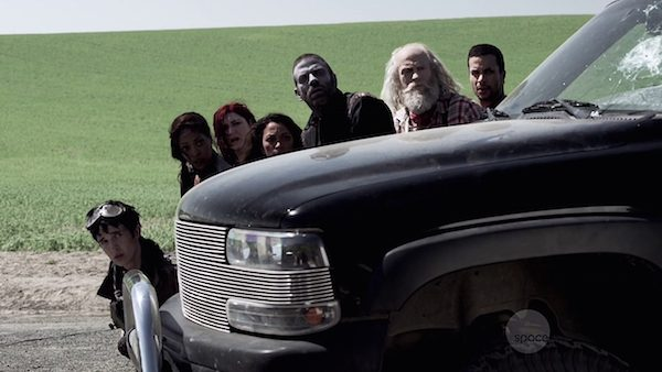 1 Z Nation Zombie Season Two Episode Five Zombaby 10K Roberta Warren Vasquez Addy Carver Doc Murphy Cassandra S2E5