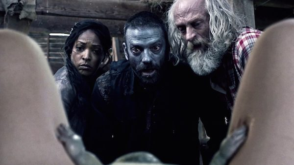 10 Z Nation Zombie Season Two Episode Five Zombaby Warren Doc Murphy Kelitta Smith Russell Hodgkinson Keith Allan S2E5