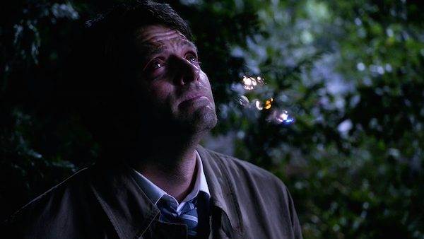 11 Supernatural SPN Season Eleven Episode One S11E1 Out of the Darkness Into the Fire Castiel Misha Collins