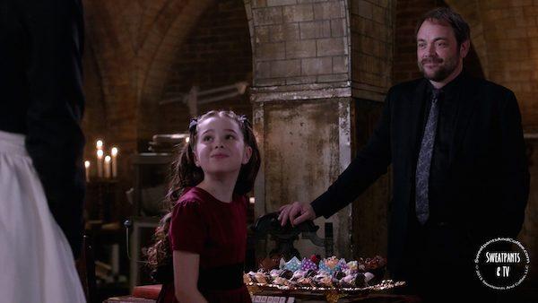 12 Supernatural SPN Season Eleven Episode Three S11E3 The Bad Seed Crowley Mark Sheppard Amara The Darkness