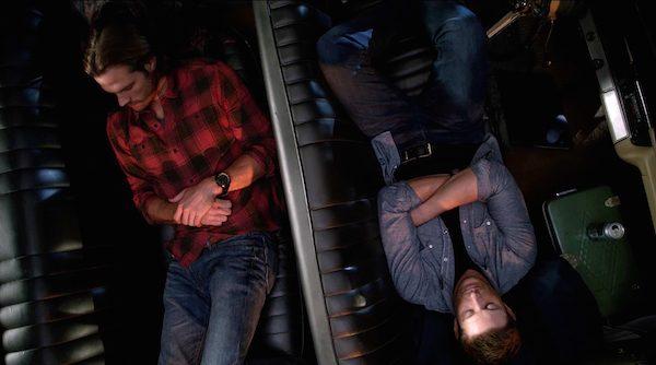 15 Supernatural SPN Season Eleven Episode Four S11E4 Baby Impala Jensen Ackles Dean Winchester Jared Padalecki Sam Sleeping