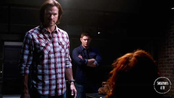 15 Supernatural SPN Season Eleven Episode Three S11E3 The Bad Seed Dean Winchester Jensen Ackles Sam Winchester Jared Padalecki Rowena Ruth Connell