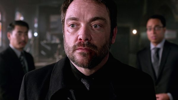 16 Supernatural SPN Season Eleven Episode One S11E1 Out of the Darkness Into the Fire Crowley Hell Mark Sheppard