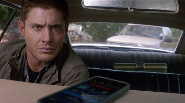18 Supernatural SPN Season Eleven Episode Four S11E4 Baby Impala Jensen Ackles Dean Winchester Cas Castiel Phone