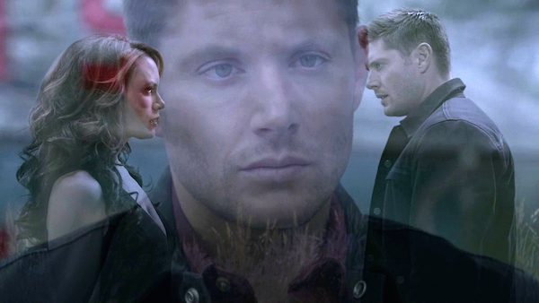 18 Supernatural SPN Season Eleven Episode One S11E1 Out of the Darkness Into the Fire Jensen Ackles Emily Swallow Dean Winchester the Darkness