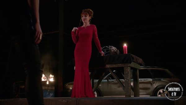 2 Supernatural SPN Season Eleven Episode Three S11E3 The Bad Seed Rowena Ruth Connell