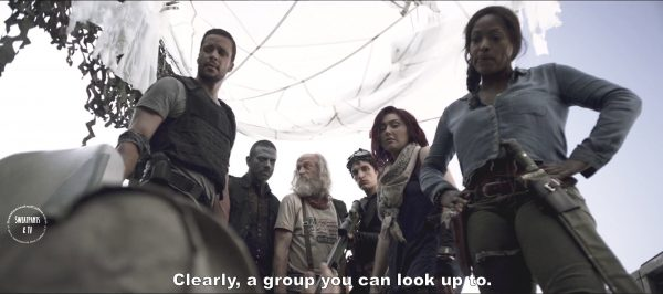 2 Z Nation Season Two Episode Seven S2E7 Down the Mississippi Warren Doc Addy Murphy, 10K Vasquez