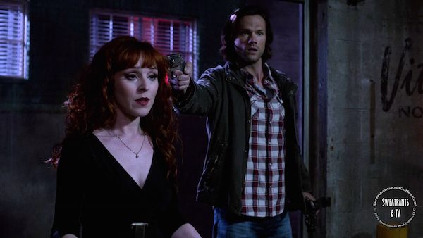 21 Supernatural SPN Season Eleven Episode Three S11E3 The Bad Seed Sam Winchester Jared Padalecki Rowena Ruth Connell