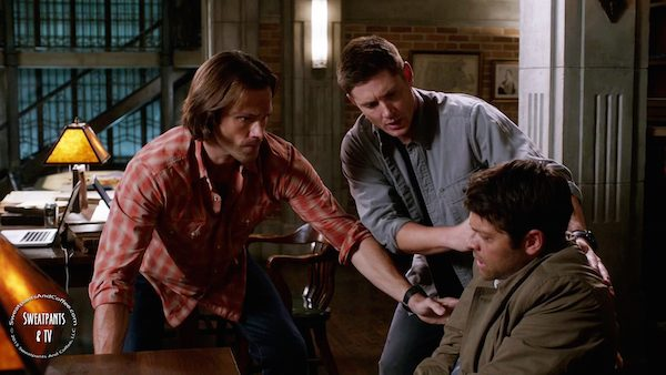 3 Supernatural SPN Season Eleven Episode Three S11E3 The Bad Seed Dean Winchester Jensen Ackles Sam Winchester Jared Padalecki Castiel Misha Collins