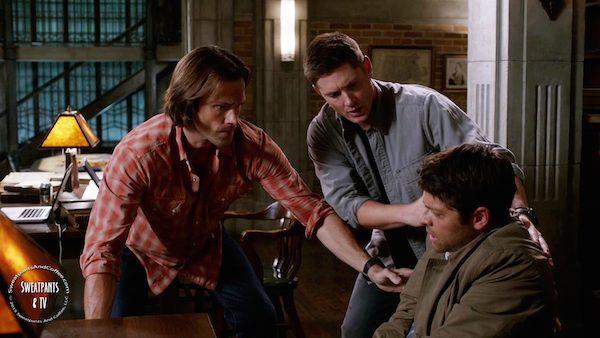3 Supernatural SPN Season Eleven Episode Three S11E3 The Bad Seed Dean Winchester Jensen Ackles Sam Winchester Jared Padalecki Castiel Misha Collins