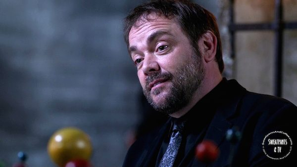 7 Supernatural SPN Season Eleven Episode Three S11E3 The Bad Seed Crowley Mark Sheppard