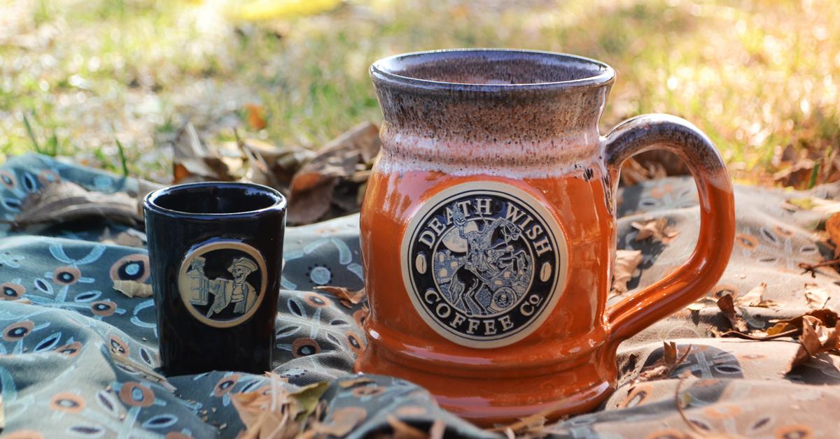 review death wish coffee the sleepy hollow tankard set
