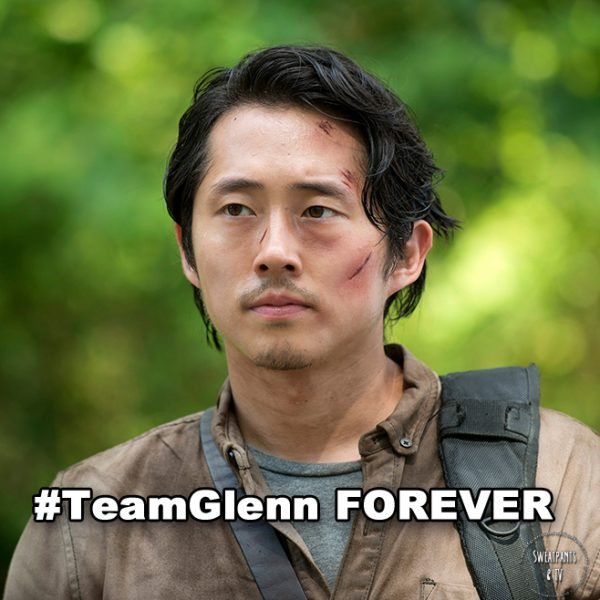 The Walking Dead 6x03 Glenn_Steven Yeun
