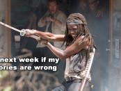 The Walking Dead 6x03 Michonne_WP