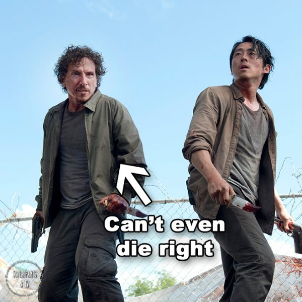 The Walking Dead 6x03 Nicholas and Glenn