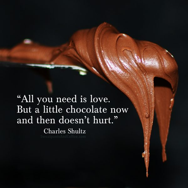 1 - Charles Shultz quote_love and chocolate