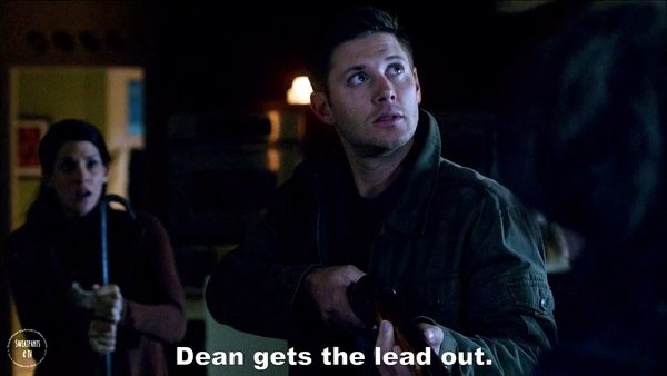 1 Supernatural Season Eleven Episode Five Thin Lizzie SPN S11E5 Dean Winchester Jensen Ackles