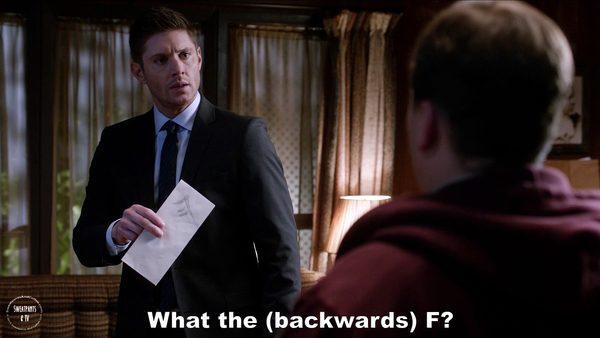 11 Supernatural Season Eleven Episode Five Thin Lizzie SPN S11E5 Dean Winchester Jensen Ackles
