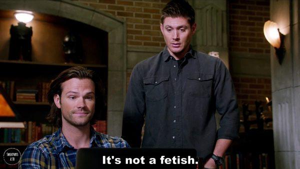3 Supernatural Season Eleven Episode Five Thin Lizzie SPN S11E5 Dean Winchester Jensen Ackles Sam Jared Padalecki
