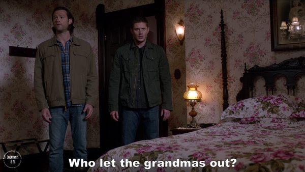 5 Supernatural Season Eleven Episode Five Thin Lizzie SPN S11E5 Dean Winchester Jensen Ackles Sam Jared Padalecki