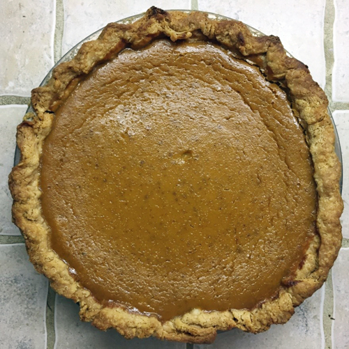 8 - Catastrophe Kitchen pumpkin pie