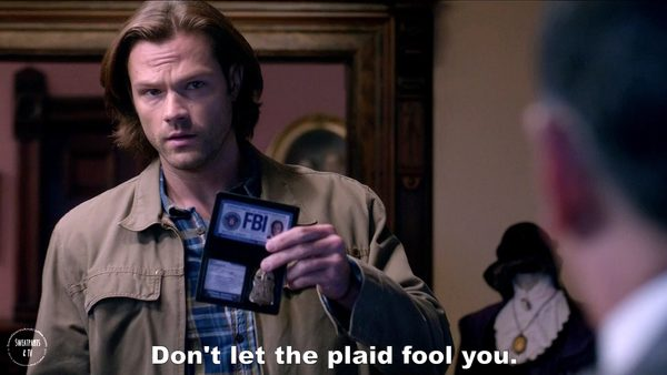 8 Supernatural Season Eleven Episode Five Thin Lizzie SPN S11E5 Sam Winchester Jared Padalecki