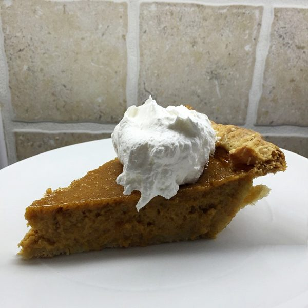9 - Catastrophe Kitchen pumpkin pie