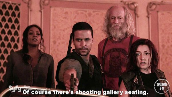 9 Z Nation Season Two Episode Eight S2E08 The Collector Doc Warren Addy Vasquez Matt Cedeno Russell Hodgkinson Anastasia Baranova Kellita Smith