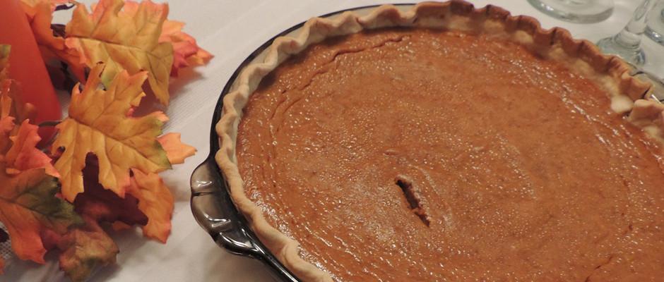 Pumpkin pie WP