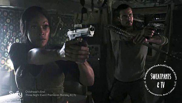 9 Z Nation Season Two Episode Fourteen S2E14 Day One Warren Vasquez Kellita Smith Matt Cedeno