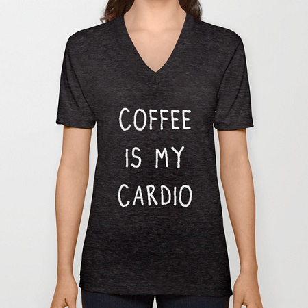 """Coffee Is My Cardio"""