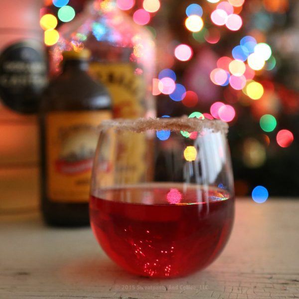 Cranberry Cinnamon Ginger Fizz recipe by Sweatpants & Coffee_IG