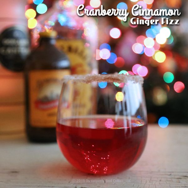 Cranberry Cinnamon Ginger Fizz recipe by Sweatpants & Coffee_IG2