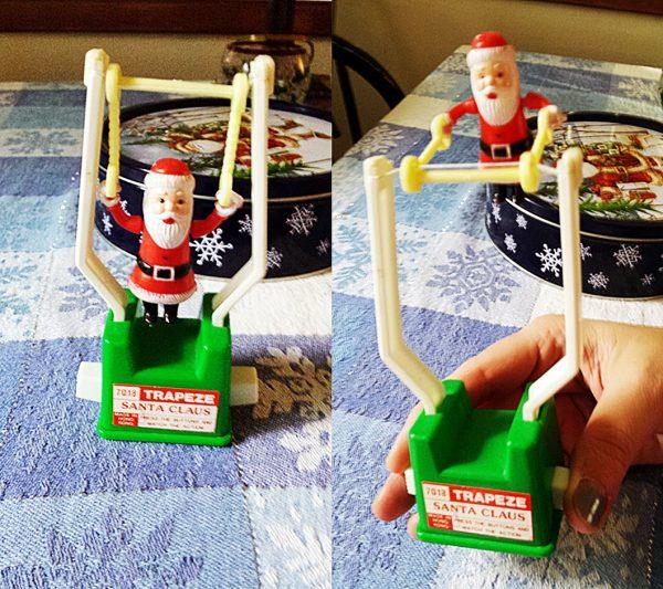 Jen Violi_trapeze Santa ornament
