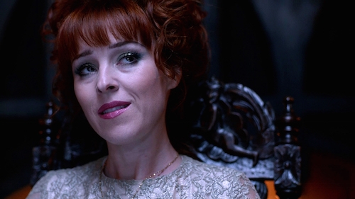 6 Supernatural SPN Season Eleven Episode Ten S11E10 The Devil in the Details Rowena Ruth Connell