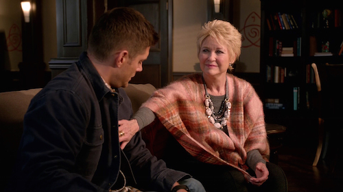 9 Supernatural Season Eleven Episode Eleven SPN S11E11 Into the Mystic Jensen Ackles Dean Winchester Dee Wallace Mildred Baker