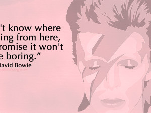 David Bowie quotes WP