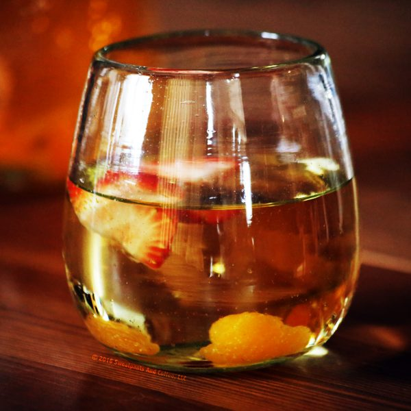 Mandarin Orange White Wine Cooler recipe