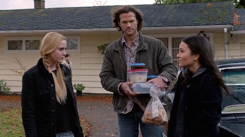 10 Supernatural Season Eleven Episode Twelve SPN S11E12 Forget About Me Sam Winchester Claire Novak Alex Jones Jared Padalecki Kathryn Love Newton Katherine Ramdeen