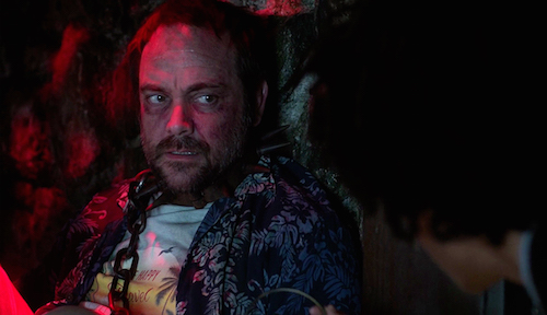 2 Supernatural SPN Season Eleven Episode Fifteen S11E15 Beyond the Mat Crowley Mark Sheppard