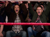 FB Supernatural SPN Season Eleven Episode Fifteen S11E15 Beyond the Mat Sam Dean Winchester Jared Padalecki Jensen Ackles