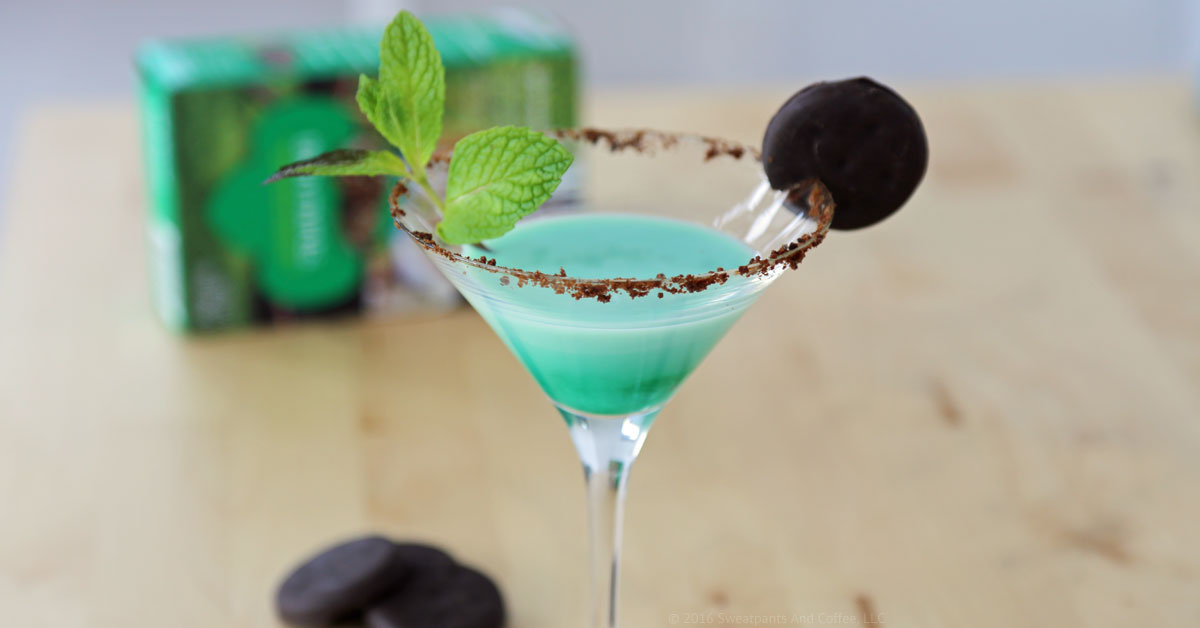 Cocktail Corner | The Thin Mint-ini