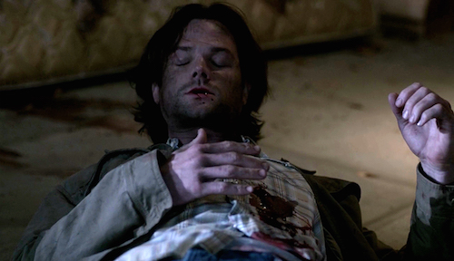 1 Supernatural SPN Season Eleven Episode Seventeen S11E17 Red Meat Sam Winchester Jared Padalecki shot
