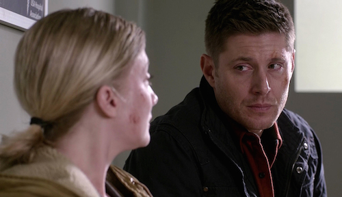 10 Supernatural SPN Season Eleven Episode Seventeen S11E17 Red Meat Michelle Erin Way Dean Winchester Jensen Ackles